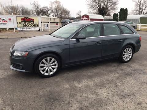 2010 Audi A4 for sale at Cordova Motors in Lawrence KS