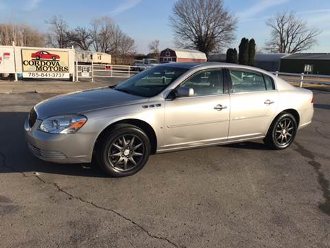 2006 Buick Lucerne for sale at Cordova Motors in Lawrence KS