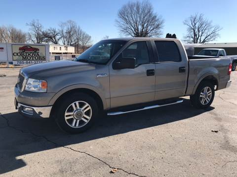 Used 2005 ford f 150 for sale in kansas for Cordova motors lawrence ks