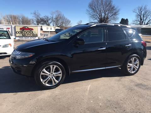 2009 Nissan Murano for sale at Cordova Motors in Lawrence KS