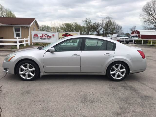 2004 Nissan Maxima 3 5 Se 4dr Sedan In Lawrence Ks Cordova