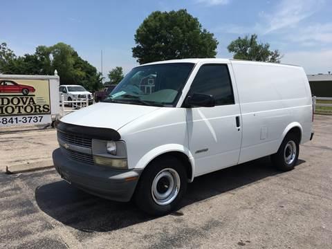 2000 Chevrolet Astro Cargo for sale at Cordova Motors in Lawrence KS