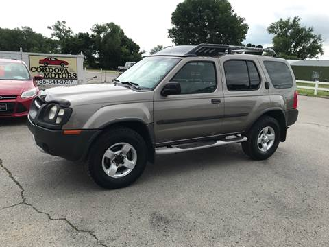 2004 Nissan Xterra for sale at Cordova Motors in Lawrence KS