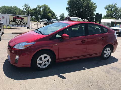 2010 Toyota Prius for sale at Cordova Motors in Lawrence KS