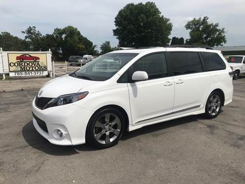 2011 Toyota Sienna for sale at Cordova Motors in Lawrence KS
