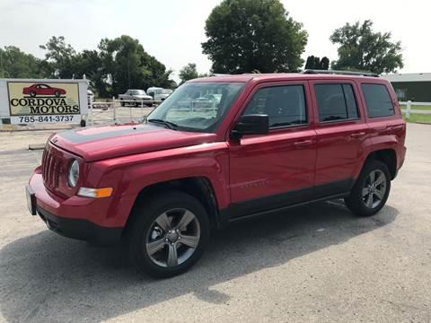 2017 Jeep Patriot for sale at Cordova Motors in Lawrence KS