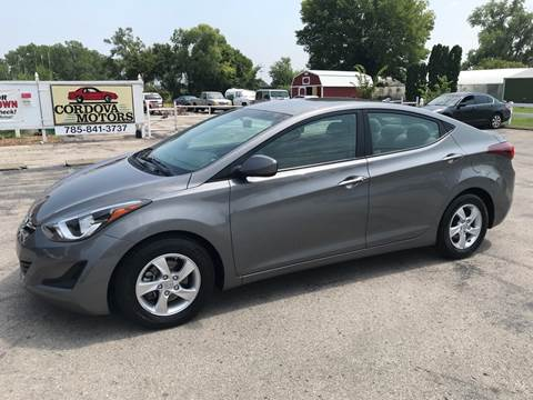 2014 Hyundai Elantra for sale at Cordova Motors in Lawrence KS