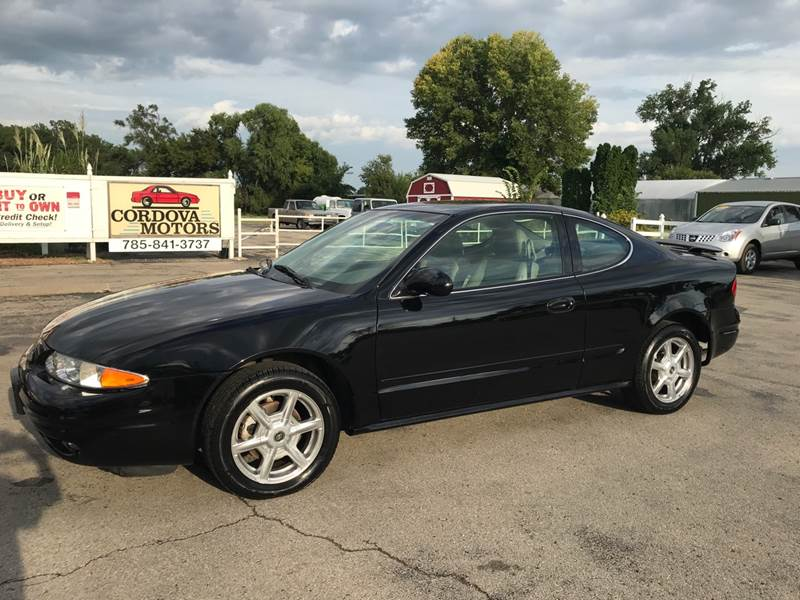 2001 oldsmobile alero gls 2dr coupe in lawrence ks cordova motors 2001 oldsmobile alero gls 2dr coupe in