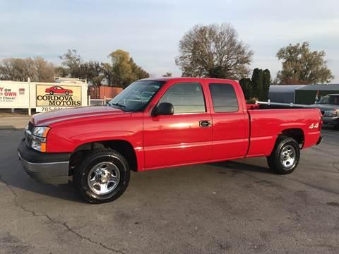 Cordova Motors Used Cars Lawrence Ks Dealer