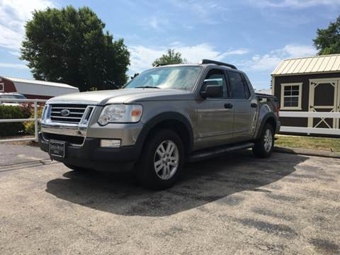2008 Ford Explorer Sport Trac for sale at Cordova Motors in Lawrence KS