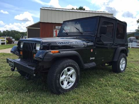 1989 Jeep Wrangler for sale at Cordova Motors in Lawrence KS