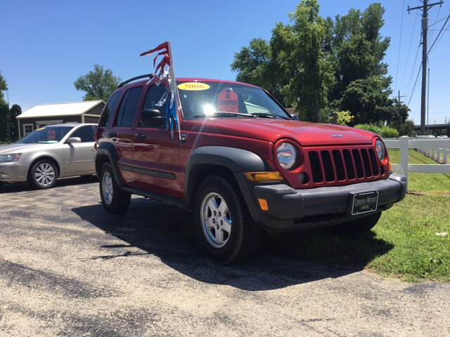 2006 jeep liberty sport 4dr suv 4wd in lawrence ks