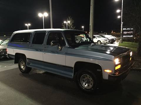 1990 GMC Suburban for sale at Cordova Motors in Lawrence KS