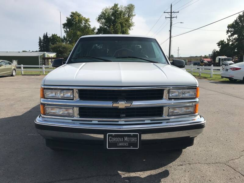 1998 Chevrolet C/K 1500 Series 2dr C1500 Silverado Extended Cab Stepside SB - Lawrence KS