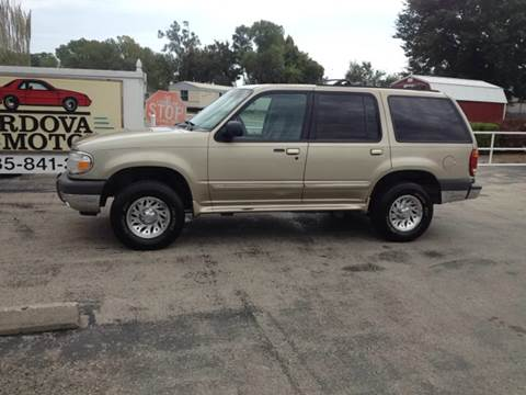2000 Ford Explorer for sale at Cordova Motors in Lawrence KS