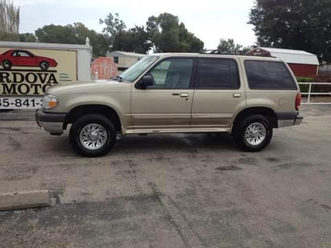 2000 Ford Explorer for sale at Cordova Motors in Lawrence KS