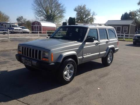 2001 Jeep Cherokee for sale at Cordova Motors in Lawrence KS