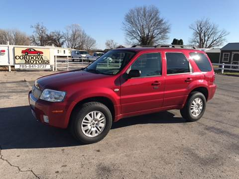2006 Mercury Mariner for sale at Cordova Motors in Lawrence KS