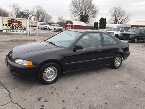1995 Honda Civic for sale at Cordova Motors in Lawrence KS