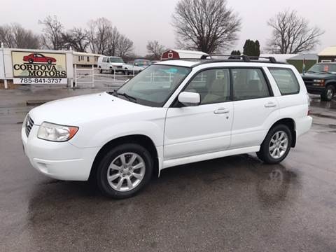 2008 Subaru Forester for sale at Cordova Motors in Lawrence KS