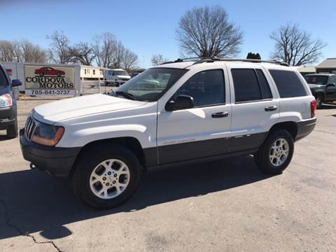2000 Jeep Grand Cherokee for sale at Cordova Motors in Lawrence KS
