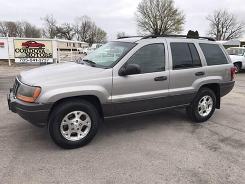 2001 Jeep Grand Cherokee for sale at Cordova Motors in Lawrence KS