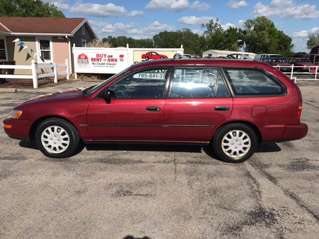 1993 Toyota Corolla DX 4dr Wagon In Lawrence KS - Cordova Motors