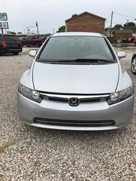 2006 Honda Civic for sale at ADKINS PRE OWNED CARS LLC in Kenova WV