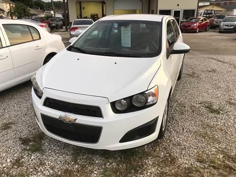 2012 Chevrolet Sonic for sale at ADKINS PRE OWNED CARS LLC in Kenova WV