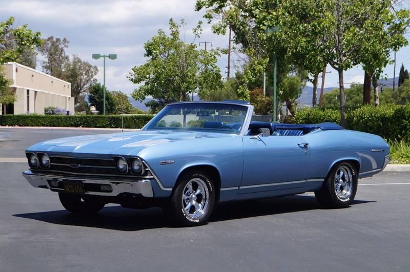 1969 Chevrolet Chevelle Malibu Convertible In Thousand Oaks