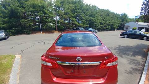 2015 Nissan Sentra for sale in Ludlow, MA