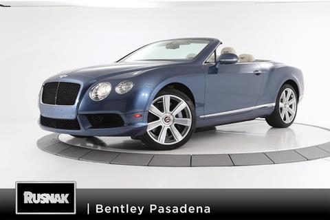 2014 Bentley Continental GTC V8 for sale in Pasadena, CA