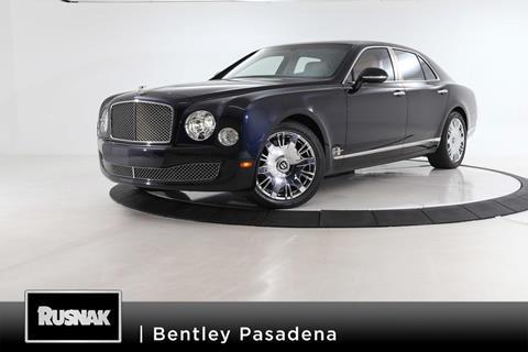 2016 Bentley Mulsanne for sale in Pasadena, CA