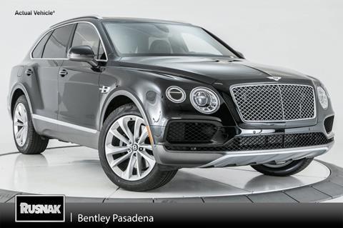 2018 Bentley Bentayga W12 for sale in Pasadena, CA