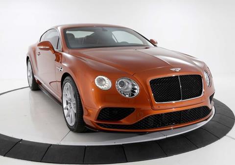 2016 Bentley Continental GT V8 S for sale in Pasadena, CA
