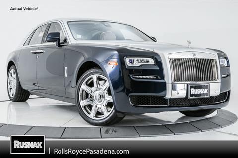2016 Rolls-Royce Ghost Series II for sale in Pasadena, CA