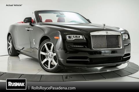 2017 Rolls-Royce Dawn for sale in Pasadena, CA