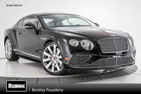 2017 Bentley Continental GT V8 S for sale in Pasadena, CA