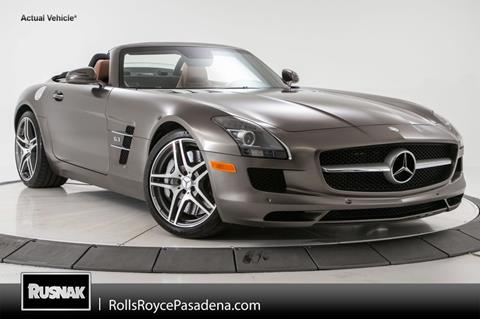 2012 Mercedes-Benz SLS AMG for sale in Pasadena, CA