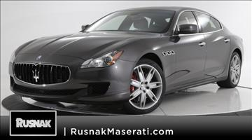 2016 Maserati Quattroporte for sale in Pasadena, CA
