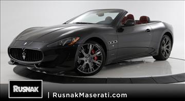2016 Maserati GranTurismo for sale in Pasadena, CA