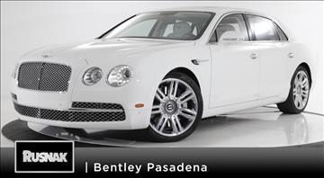 2016 Bentley Flying Spur W12 for sale in Pasadena, CA