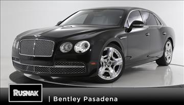 2014 Bentley Flying Spur for sale in Pasadena, CA