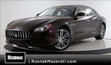 2017 Maserati Quattroporte for sale in Pasadena, CA