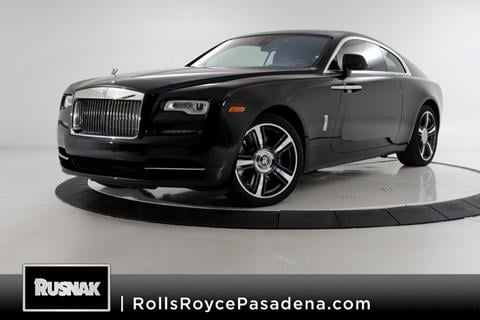 2017 Rolls-Royce Wraith for sale in Pasadena, CA