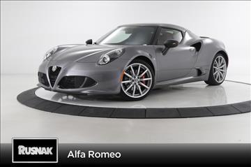 2017 Alfa Romeo 4C for sale in Pasadena, CA