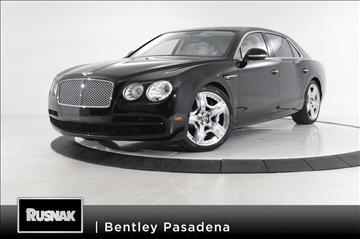 2015 Bentley Flying Spur V8 for sale in Pasadena, CA