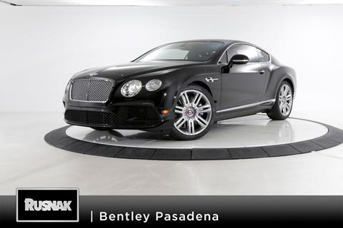 2017 Bentley Continental GT V8 for sale in Pasadena, CA