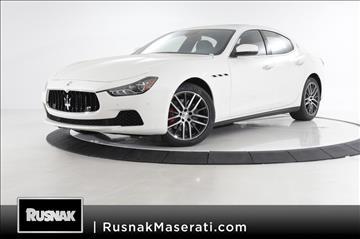 2017 Maserati Ghibli for sale in Pasadena, CA