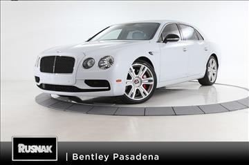 2017 Bentley Flying Spur V8 S for sale in Pasadena, CA